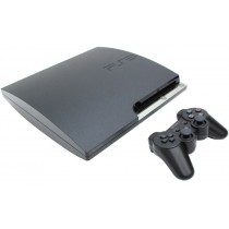 Sony PlayStation 3 CECH-2008a [Black, 120 Gb]